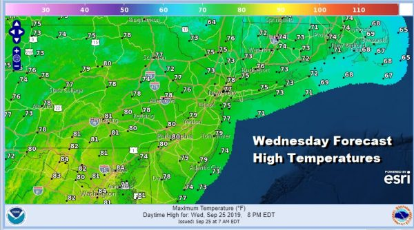 Great Weather Wednesday Dry Weather Continues Into Next Week