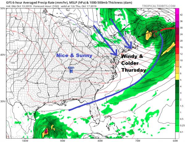 Sunday Weather Week Ahead Weather Forecast Midweek Rain & Wind
