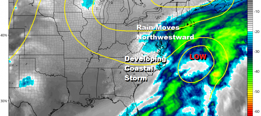 Developing Coastal Storm