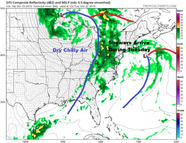 Post Tropical Storm Nestor Moving Northeast Rain Grazes Area Sunday