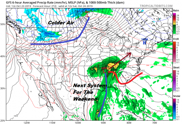 Weekend Weather Not Look Promising Next Week More Changes Trend To Colder