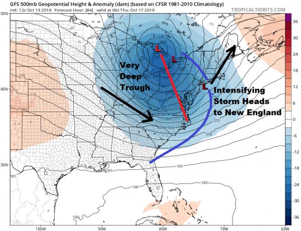 Rain South Jersey Tonight Columbus Day Sunshine Major Storm Develops Northeast Wednesday