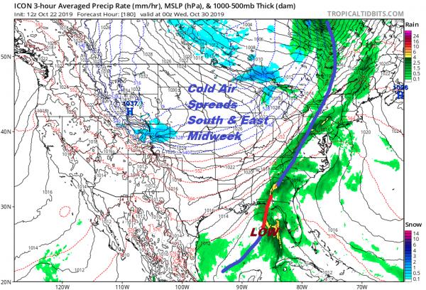 Long Range Joestradamus Sees Halloween Cold Pattern Later Next Week