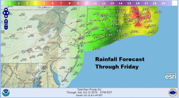 Coastal Flood Warning Long Island New Jersey Shore Wind Advisory Eastern Long Island