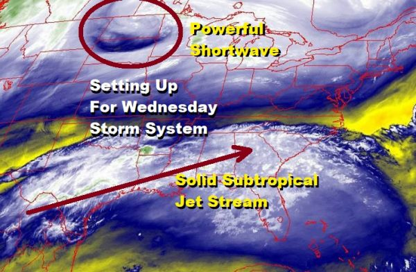 Nice Weather Ahead Before Major Storm Rain Wednesday Strong Winds Thursday