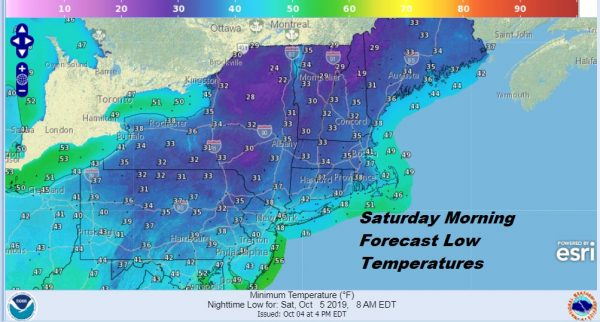 Frosty Weather Night Ahead Inland Good Looking Weekend Showers Late Monday