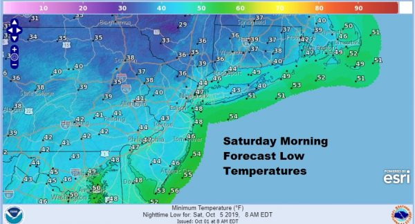 Here Comes Chilly Autumn Air Into the East