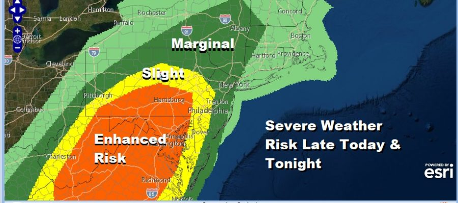 Halloween Winds Howl Along The Coast Severe Thunderstorms Possible Tonight