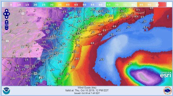 Coastal Flood Advisory Gale Warnings Coastal Storm Offshore Into Saturday