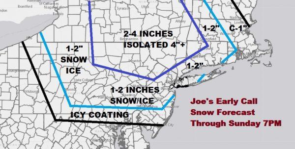 Major Storm Heads East Sunday Monday