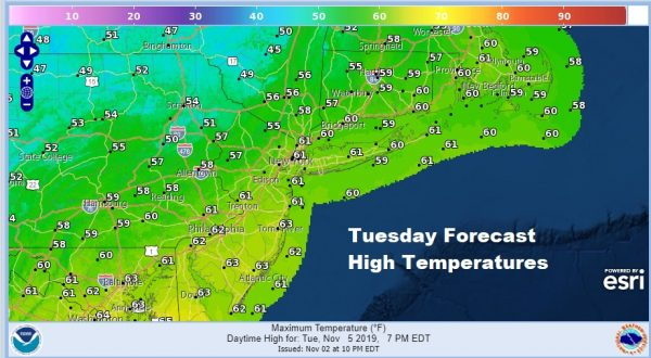Another Sunny Chilly Day Week Ahead Outlook