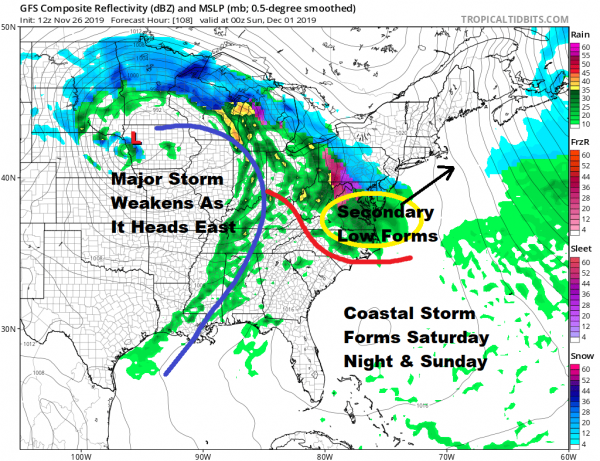 Thanksgiving Wind & A Coastal Storm for the Weekend