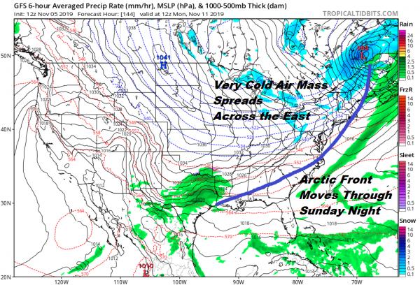Joestradamus Long Range Watching Next Week As Dynamic Pattern Evolves