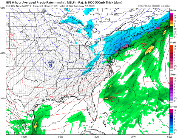 A Look Ahead to The Weekend & Next Tuesday Another System Drops Into the East