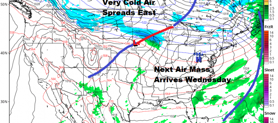 Sunshine Starts A Mostly Quiet Week Late Week System Looking Suppressed