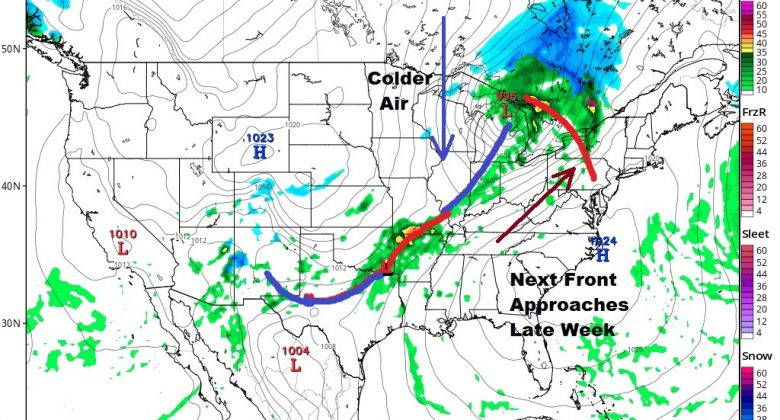 Some Rain Overnight Improving Weather Conditions Midweek