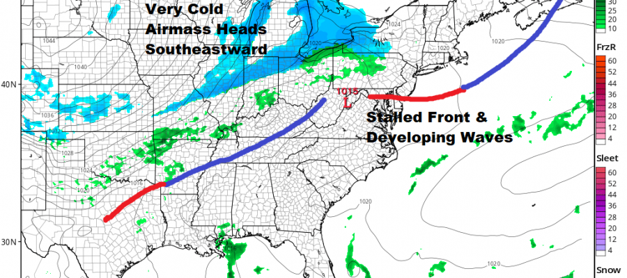 Cold Friday Saturday Warmer Sunday Another Cold Air Mass Next Week