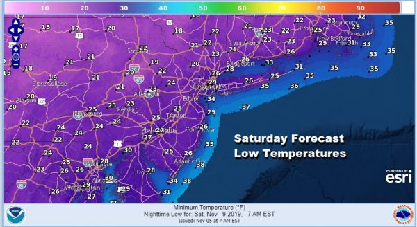 Showers Today Ahead of Cold Front, Rain Late Thursday Before Cold Arrives