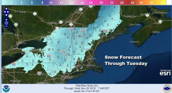 Winter Weather Advisory Coastal Flood Advisory & Warnings Posted 11172019