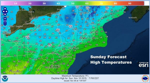Very Cold Night Ahead Warmer By Sunday Next Weather System Rhymes With Last One