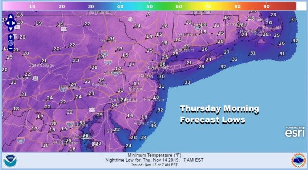 Record Lows Across The East More Records Today