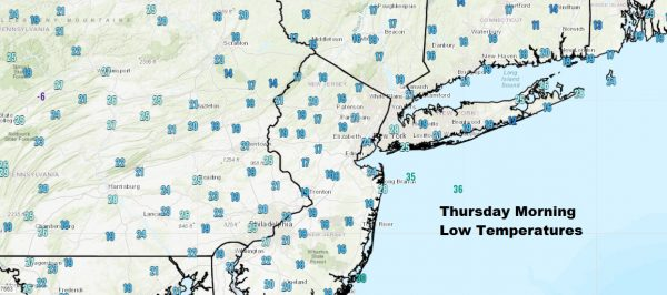 Another Cold Morning Temperatures Bounce Higher Colder Weekend
