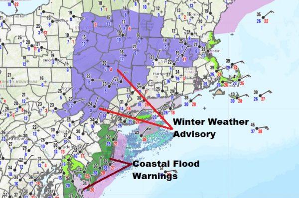 Winter Weather Advisory Northwest New Jersey,  Hudson ValleyOrange Sullivan Counties Northward