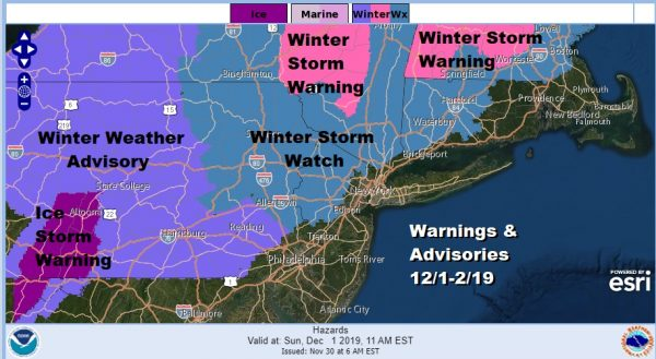 Winter Storm Watches Warnings Advisories Snow Forecast Final Call