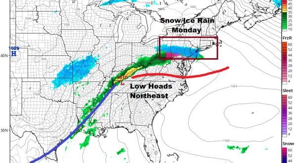 Heavy Rains Moving Northeast Shower On & Off Dry Sunday Snow Ice Rain Monday