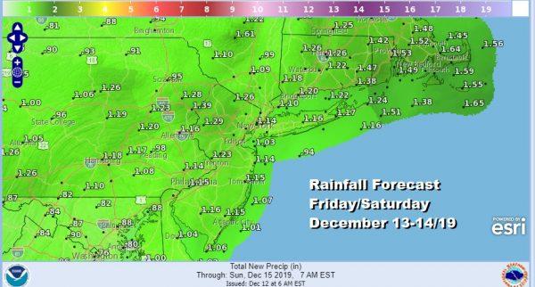 Cold Thursday Rain Friday Night Saturday Storm Moves Northward