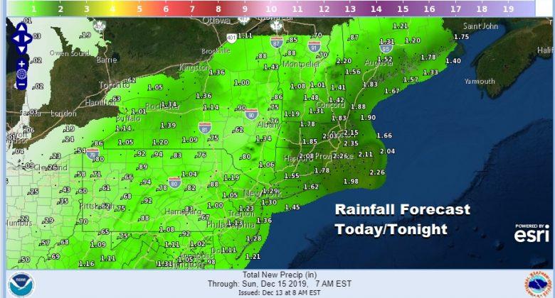 Rain On The Way Later Today Tonight Slow Improvement Weekend Windy Sunday
