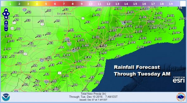 Weekend Underway Sunshine Chilly Warmer Rainy Start to Next Week