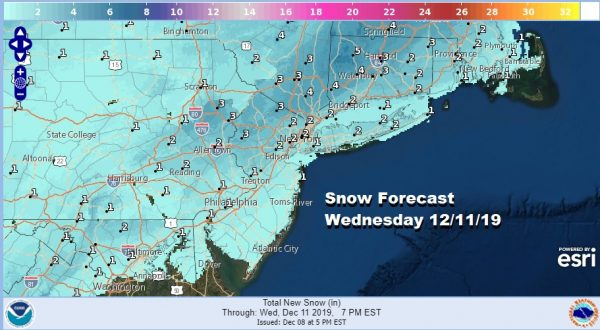 Rain Warmer Air Before Front Moves Through Temperatures Fall Snow Likely Wednesday Morning