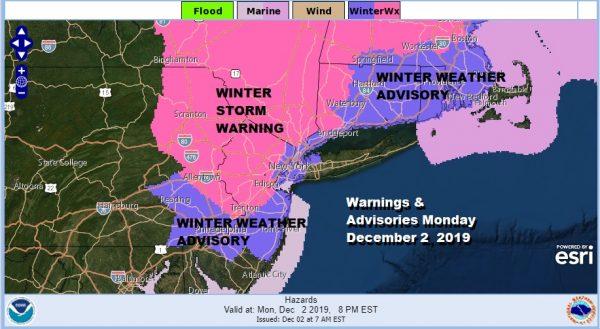 Winter Storm Warning Winter Weather Advisories