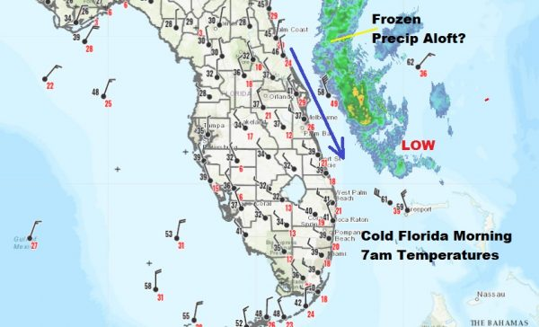 Florida Freezes Northeast Rebounds Early Call Snow Saturday Into Sunday