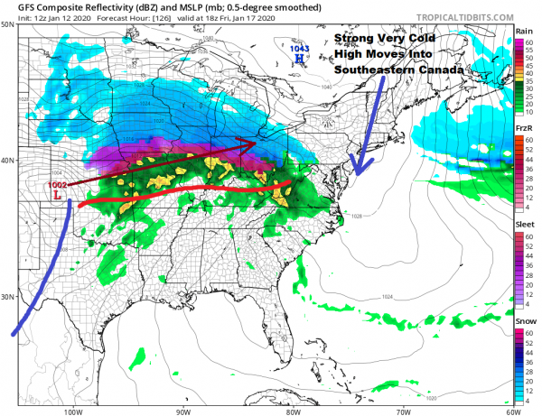 Stair Step Chill Down This Week Snow Or Snow Ice Rain Threat Friday Night into Saturday