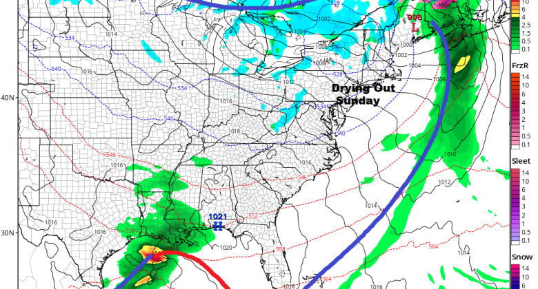 Improving Weather Conditions Ahead Dry Week But Another Storm Threatens Next Weekend