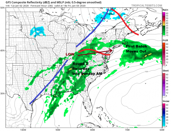 Sun Fades Away As Next System Approaches Friday Saturday Rain
