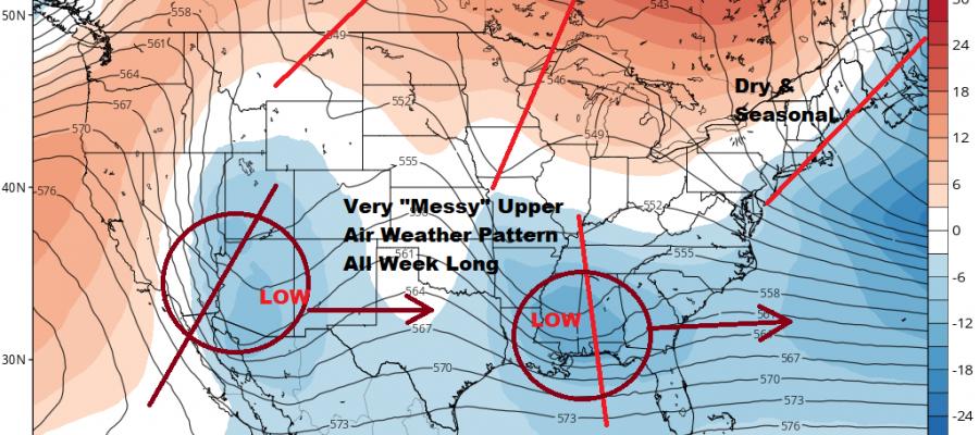 Quiet Mid Winter Weather Weekend Coastal Storm Options Remain Open