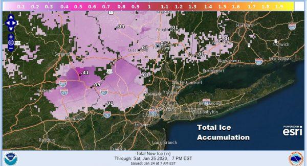 Winter Weather Advisory NW New Jersey NE Pennsylvania Coastal Flood Advisory NJ Shore