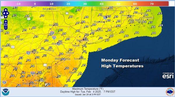 Finally Some Sunshine, Saturday Storm Grazes Coast Warmer Early Next Week