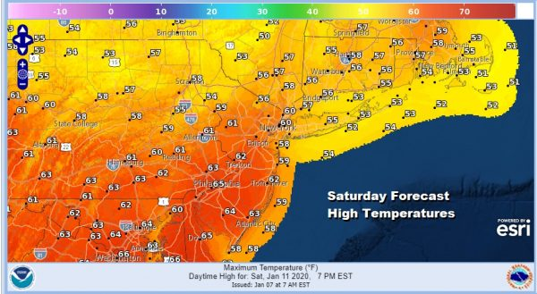 Very Cold Windy Night However Very Warm Springlike Temperatures This Weekend