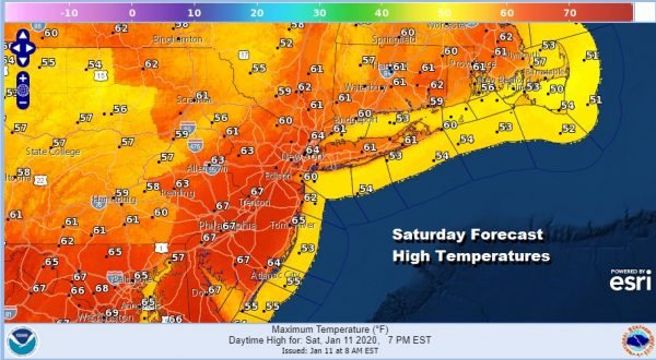 Record Temperatures Today Sunday Showers Thunderstorm Possible Overnight