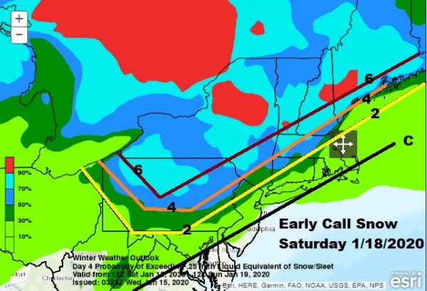 Early Call Snow Forecast Saturday Nice Sunny Wednesday Before Cold Air Arrives