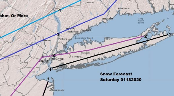 Winter Weather Advisory Eastern Pennsylvania Northern NJ Hudson Valley NYC Connecticut & Long Island Latest Snow Forecast Maps