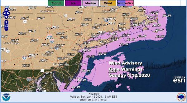 Record Highs Possible Wind Advisory Sunday