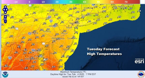 Today The Best Weather Day This Week Weather Deteriorates Beginning Tuesday