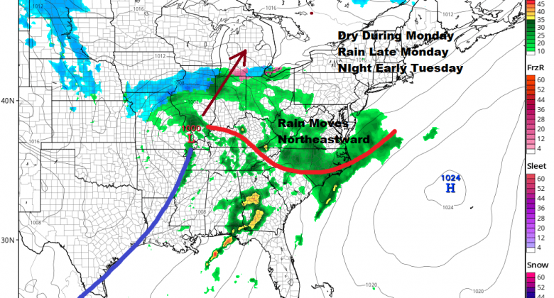 Beautiful Weekend Weather Continues Sunday Rain Returns Early Tuesday