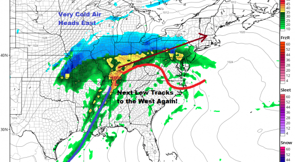 Rain Overnight Into Tuesday More Rain Late Wednesday Thursday Very Cold Air Follows