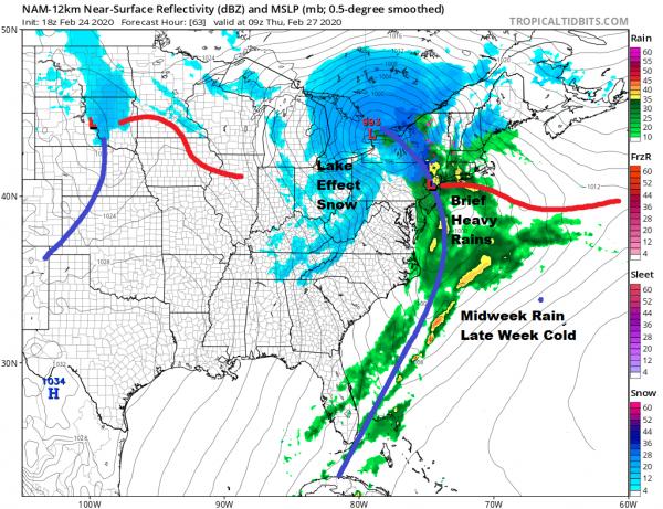 Rain Raw Conditions Developing Tuesday More Rain Wednesday Night